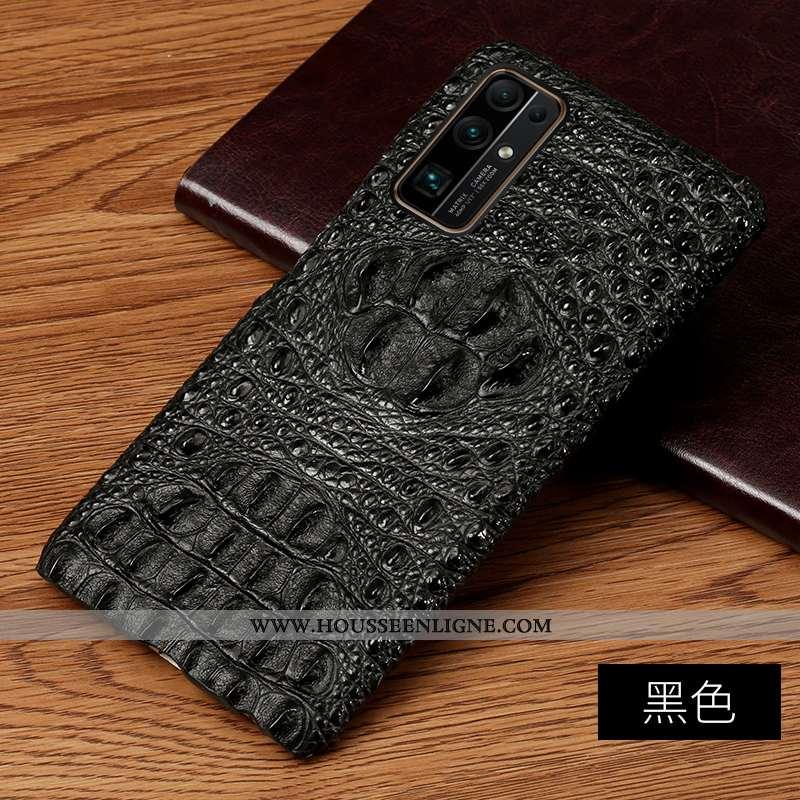 Coque Honor 30 Protection Personnalité Business Incassable Crocodile Téléphone Portable Noir
