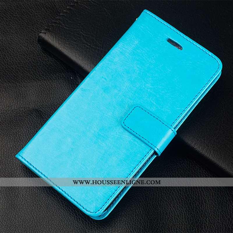 Coque Honor 30s Protection Cuir Étui Luxe Incassable Clamshell Bleu