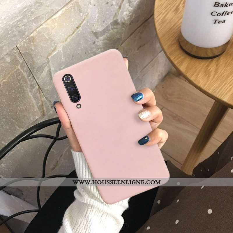 Coque Honor 9x Pro Délavé En Daim Fluide Doux Couleur Unie Silicone Rose Incassable