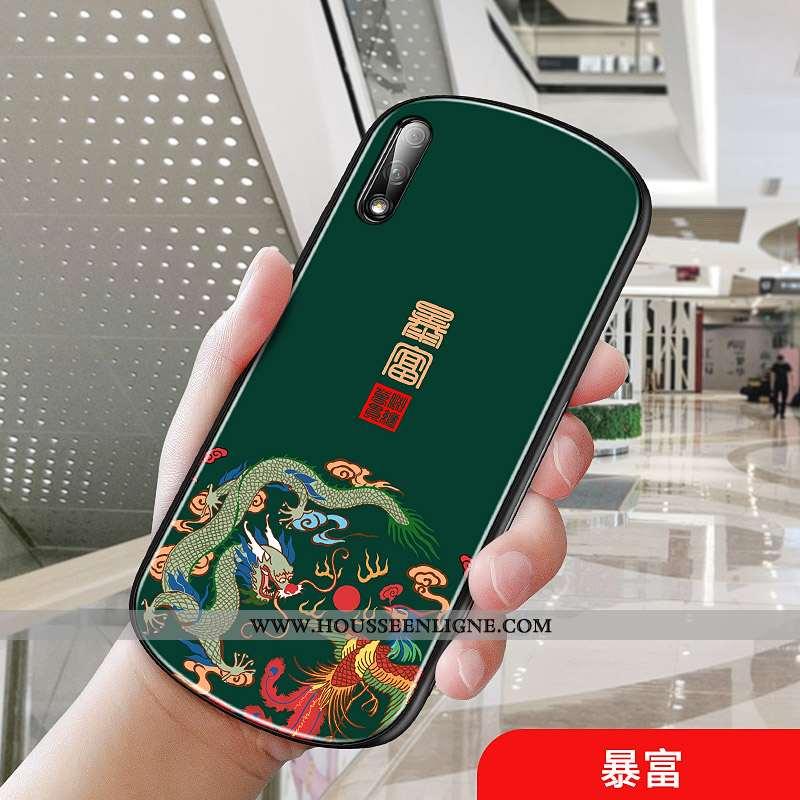 Coque Honor 9x Protection Créatif Vent Palais Téléphone Portable Arc Net Rouge Verte