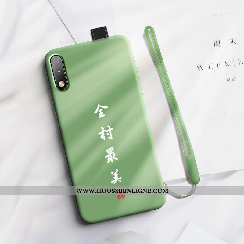 Coque Honor 9x Protection Ornements Suspendus Téléphone Portable Personnalité Nouveau Créatif Verte
