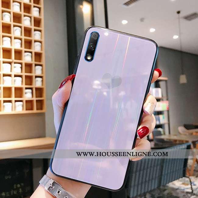 Coque Honor 9x Tendance Mode Nouveau Marque Tout Compris Incassable Téléphone Portable Violet
