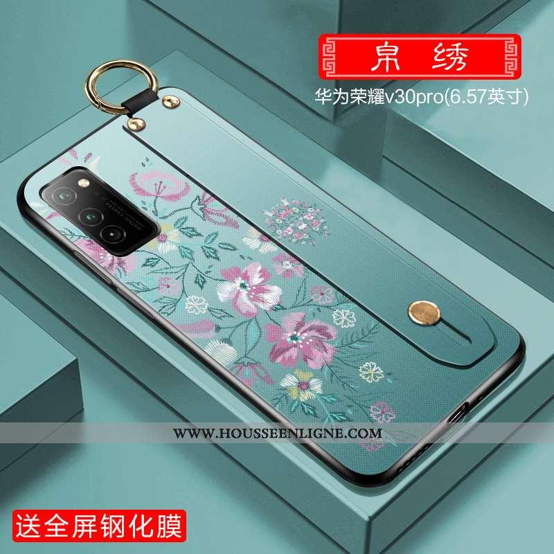 Coque Honor View30 Pro Légère Protection Ultra Tout Compris Étui Incassable Téléphone Portable Verte