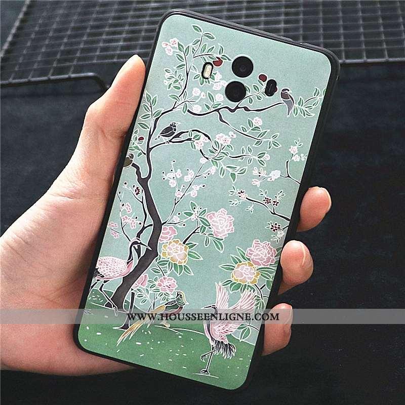 Coque Huawei Mate 10 Fluide Doux Silicone Vent Personnalité Délavé En Daim Tout Compris Incassable V