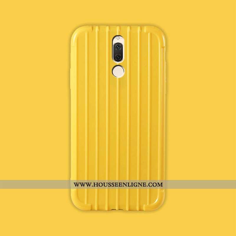 Coque Huawei Mate 10 Lite Charmant Légère Incassable Fluide Doux Protection Amoureux Jaune