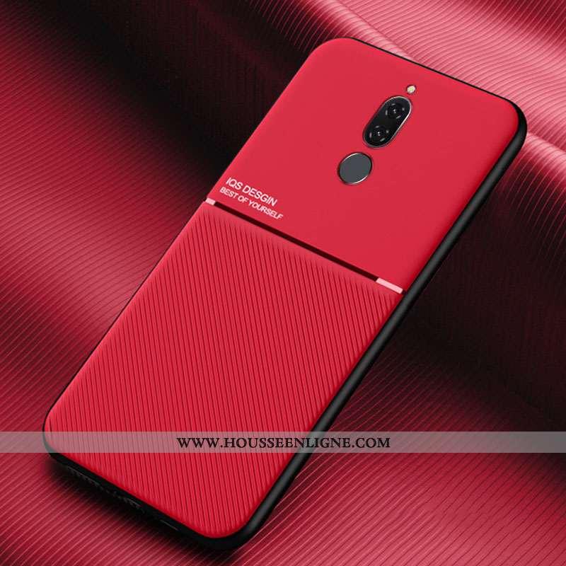 Coque Huawei Mate 10 Lite Modèle Fleurie Silicone Mode Simple Créatif Rouge