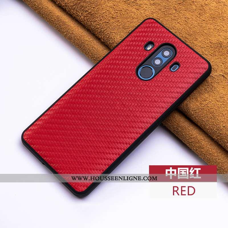 Coque Huawei Mate 10 Pro Cuir Modèle Fleurie Créatif Véritable Téléphone Portable Fibre Personnalité