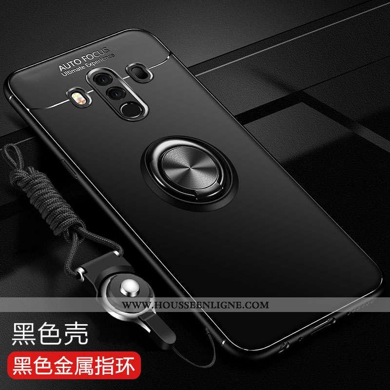 Coque Huawei Mate 10 Pro Tendance Fluide Doux Protection Téléphone Portable Noir Silicone Incassable