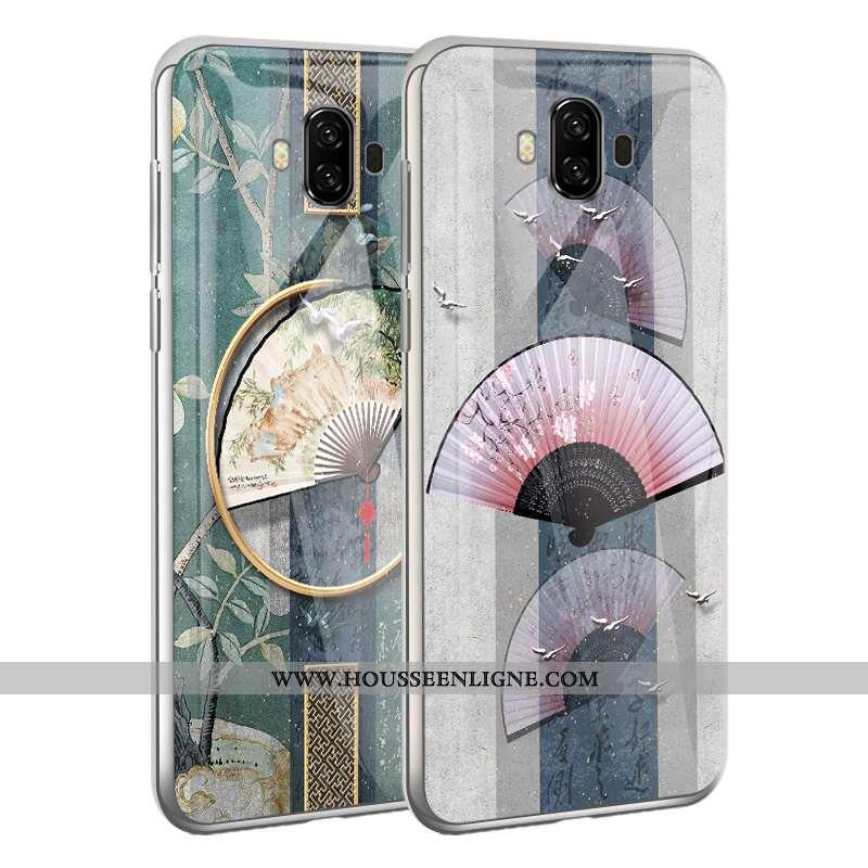 Coque Huawei Mate 10 Tendance Légère Blanc Étui Tout Compris Téléphone Portable Blanche