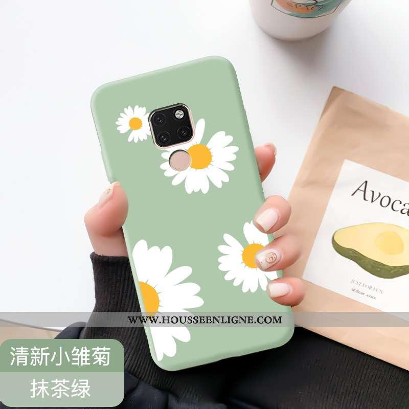 Coque Huawei Mate 20 Fluide Doux Silicone Incassable Tendance Nouveau Téléphone Portable Protection