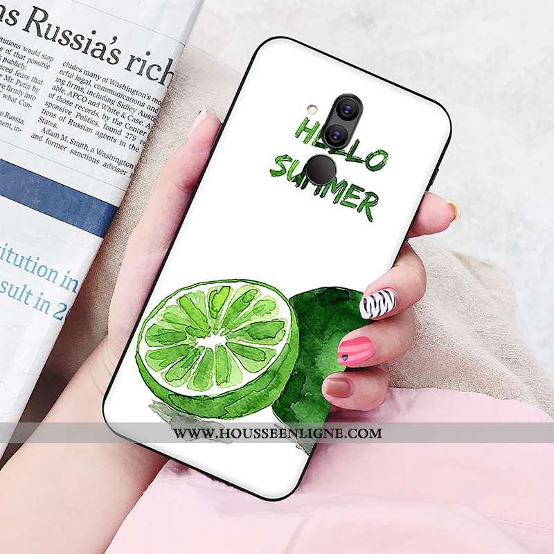 Coque Huawei Mate 20 Lite Silicone Protection Fluide Doux Amoureux Personnalité Jeunesse Téléphone P