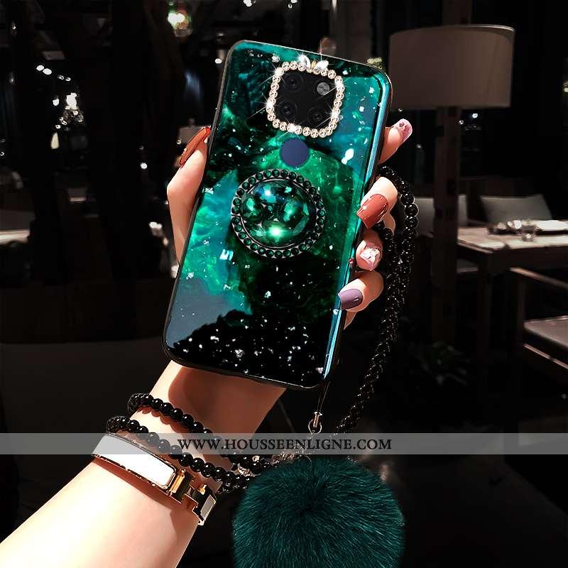 Coque Huawei Mate 20 Personnalité Créatif Téléphone Portable Net Rouge Étui Mode Tendance Verte