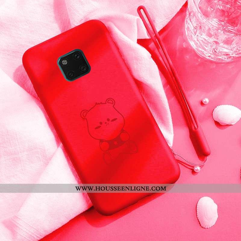 Coque Huawei Mate 20 Pro Silicone Protection Dessin Animé Net Rouge Étui Vent Amoureux