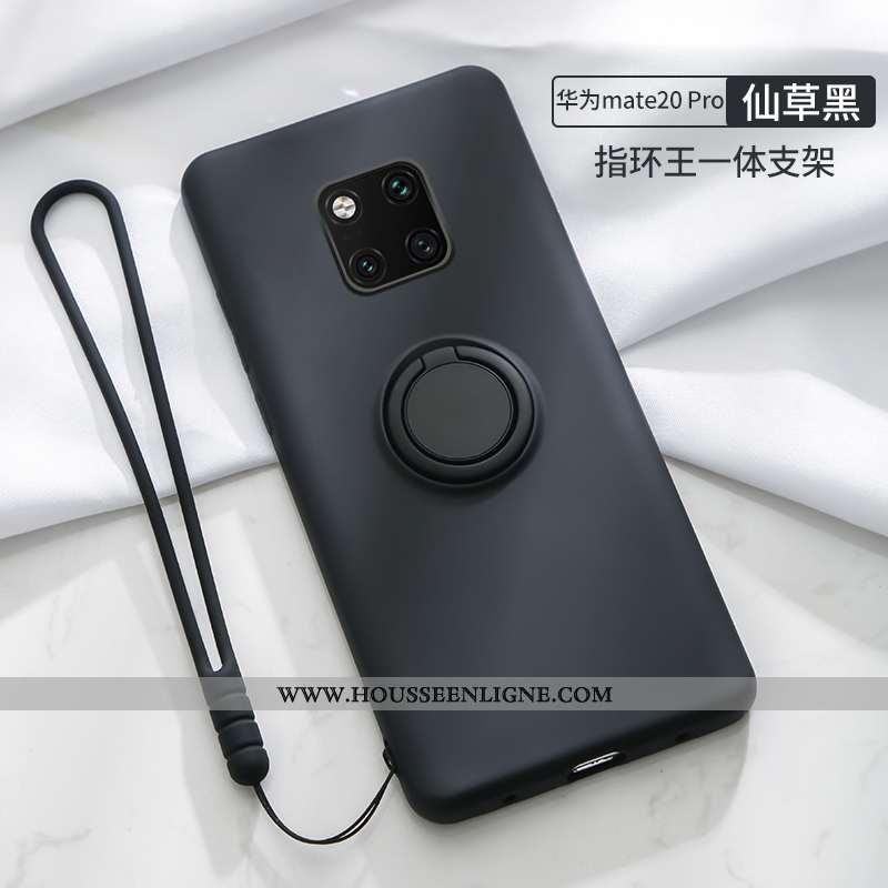 Coque Huawei Mate 20 Pro Tendance Silicone Incassable Noir Nouveau Tout Compris