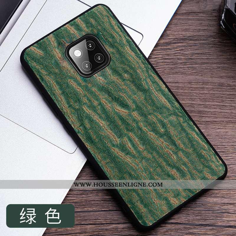 Coque Huawei Mate 20 Rs Cuir Mode Étui Luxe Téléphone Portable Qualité Verte