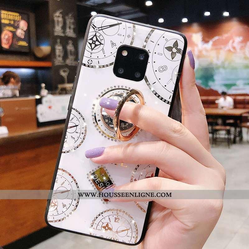Coque Huawei Mate 20 Rs Protection Personnalité Téléphone Portable Étui Incassable Blanc Tendance Bl