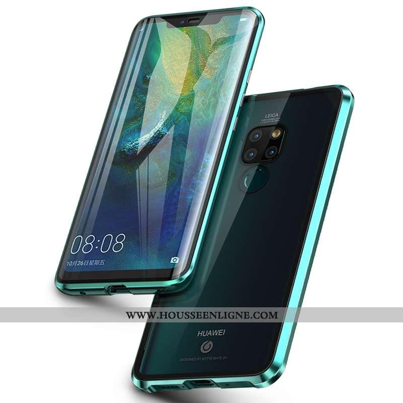 Coque Huawei Mate 20 Tendance Légère Incassable Transparent Tout Compris Téléphone Portable Verte