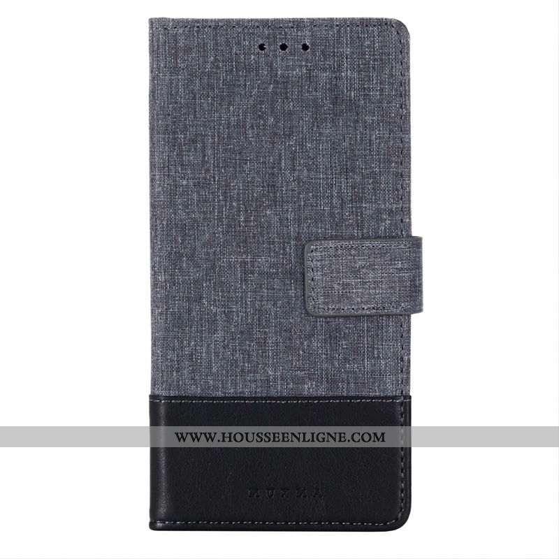 Coque Huawei Mate 30 Créatif Cuir Étui Housse Protection Téléphone Portable Toile Noir