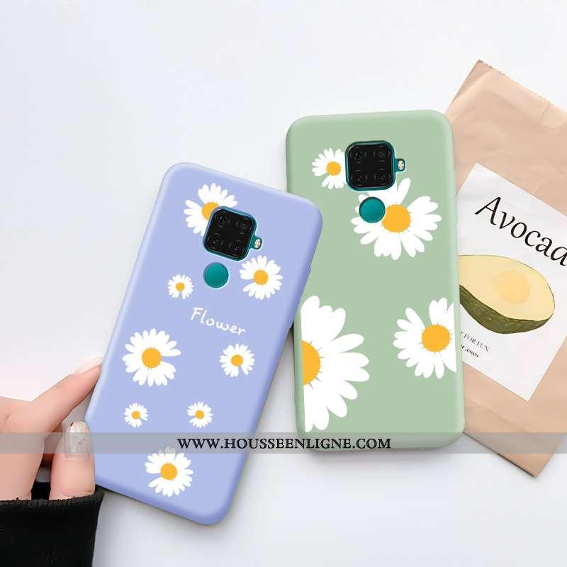 Coque Huawei Mate 30 Lite Personnalité Tendance Étui Téléphone Portable Protection Tout Compris Bleu