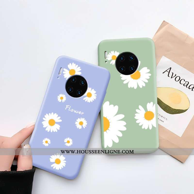 Coque Huawei Mate 30 Pro Charmant Tendance Net Rouge Téléphone Portable Fluide Doux Bleu Dessin Anim