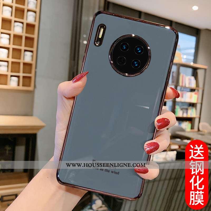 Coque Huawei Mate 30 Silicone Tendance Téléphone Portable Tout Compris Incassable Gris