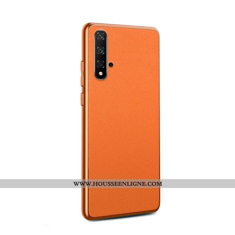 Coque Huawei Nova 5t Protection Personnalité Modèle Fleurie Créatif Tempérer Incassable Placage Oran