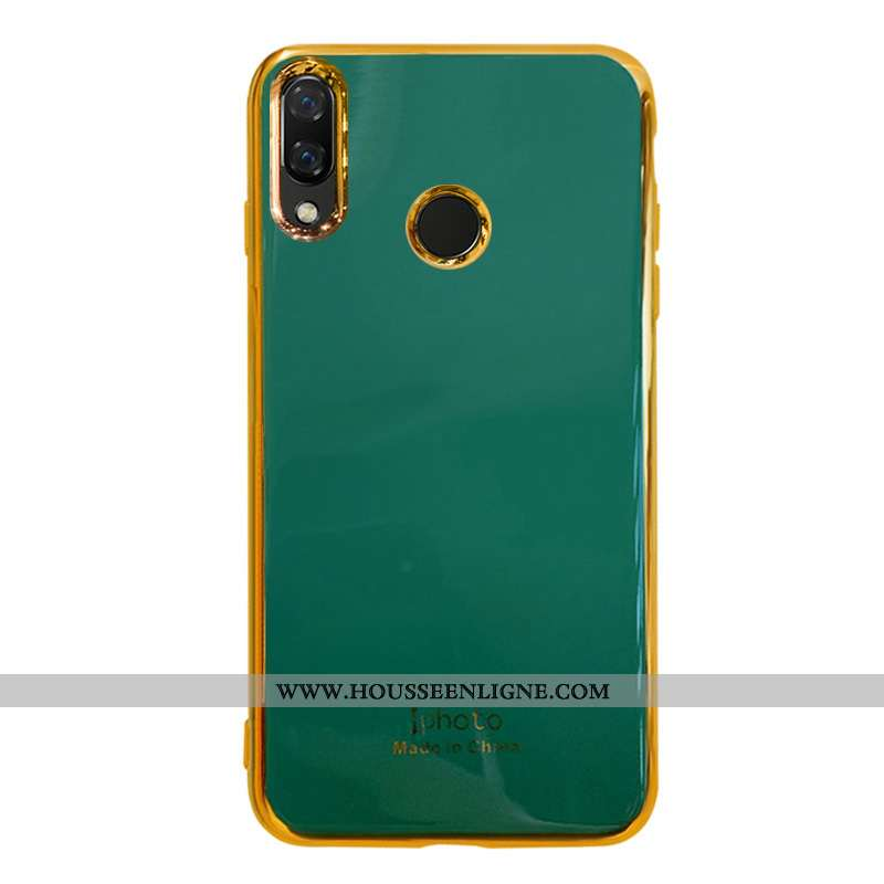 Coque Huawei P Smart 2020 Fluide Doux Silicone Net Rouge Étui Tout Compris Téléphone Portable Person