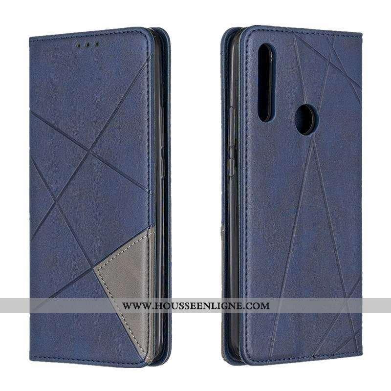 Coque Huawei P Smart+ 2020 Protection Tout Compris 2020 Étui Bleu Téléphone Portable