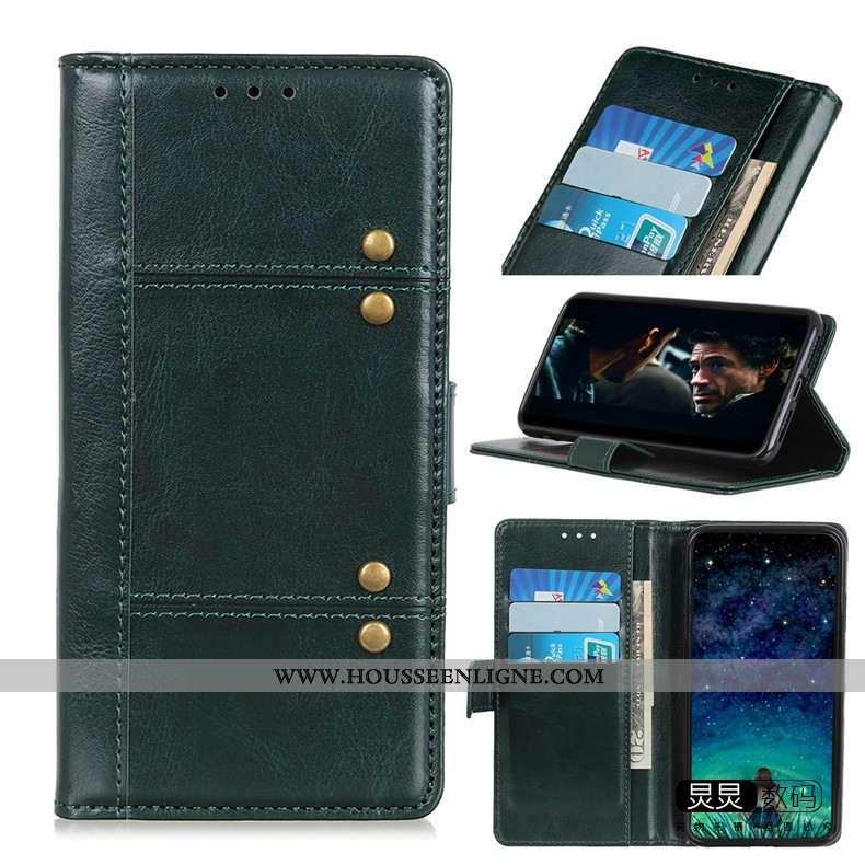 Coque Huawei P Smart 2020 Silicone Protection Téléphone Portable Incassable Étui Vert Verte