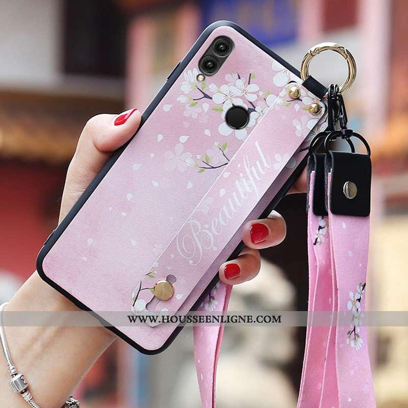 Coque Huawei P Smart 2020 Ultra Tendance Ornements Suspendus Étui Incassable Tout Compris Rose