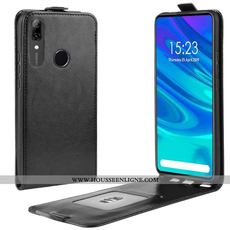 Coque Huawei P Smart Z Protection Étui Clamshell Noir Téléphone Portable