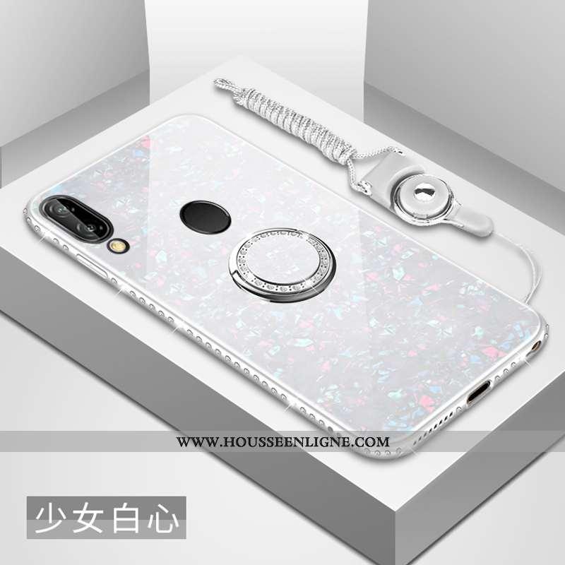 Coque Huawei P20 Lite Créatif Tendance Nouveau Coquille Personnalité Miroir Difficile Argent