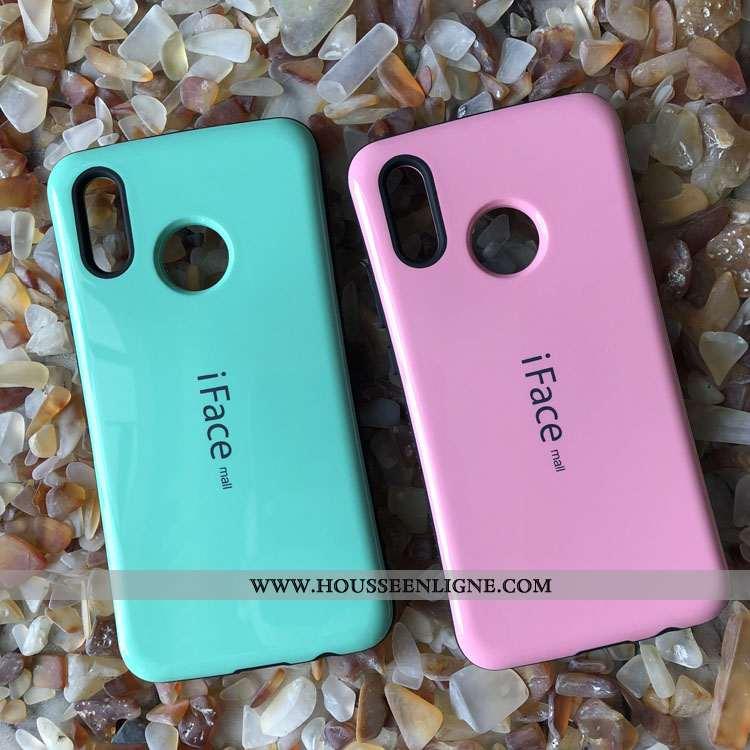Coque Huawei P20 Lite Téléphone Portable Rose Incassable Étui Difficile Tout Compris