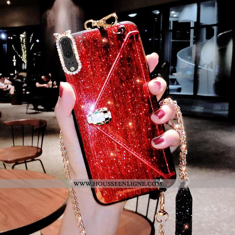 Coque Huawei P20 Personnalité Créatif Portefeuille Net Rouge Tendance Téléphone Portable