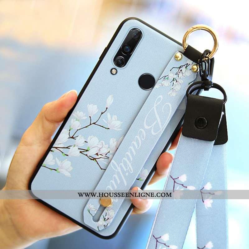 Coque Huawei P30 Lite Xl Personnalité Tendance Étui Bleu Incassable Tout Compris Téléphone Portable