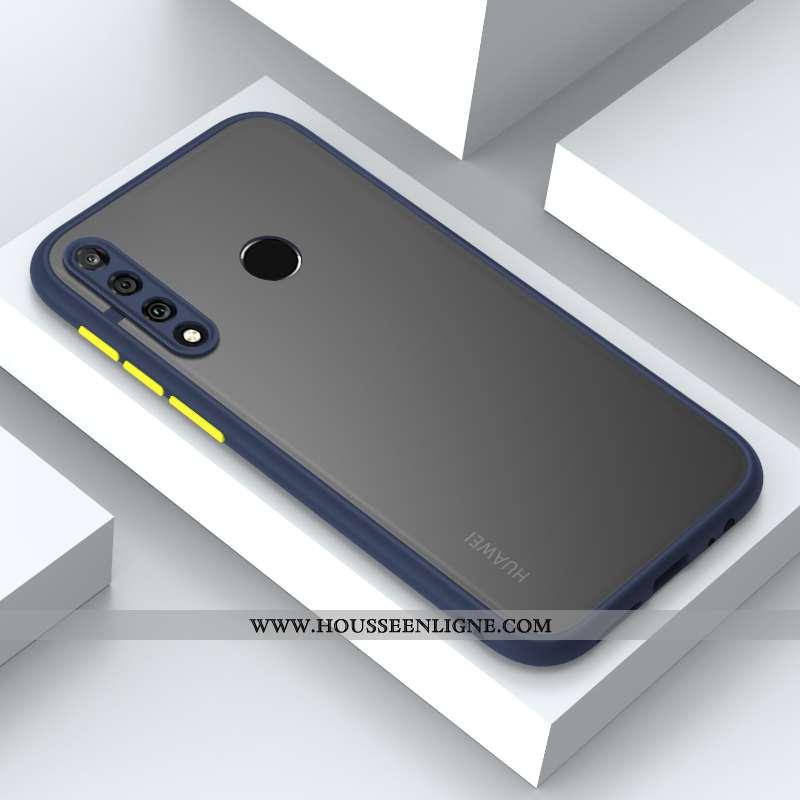 Coque Huawei P30 Lite Xl Protection Délavé En Daim Charmant Tendance Fluide Doux Net Rouge Incassabl