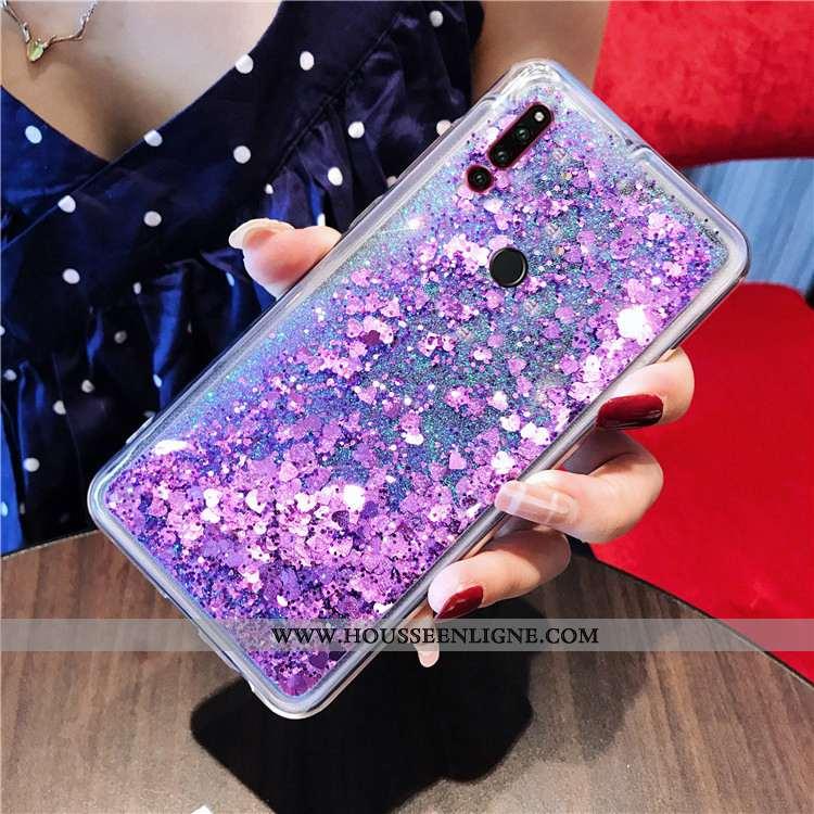 Coque Huawei P30 Lite Xl Téléphone Portable Violet Quicksand Étui