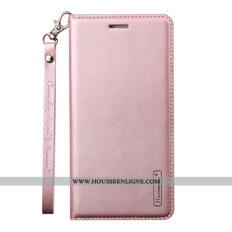 Coque Huawei P30 Mode Ornements Suspendus Téléphone Portable Tout Compris Rose Cuir Véritable