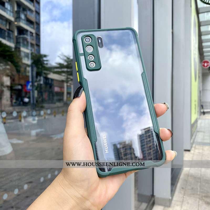 Coque Huawei P40 Lite 5g Mode Transparent Personnalité Tout Compris Net Rouge Silicone Téléphone Por
