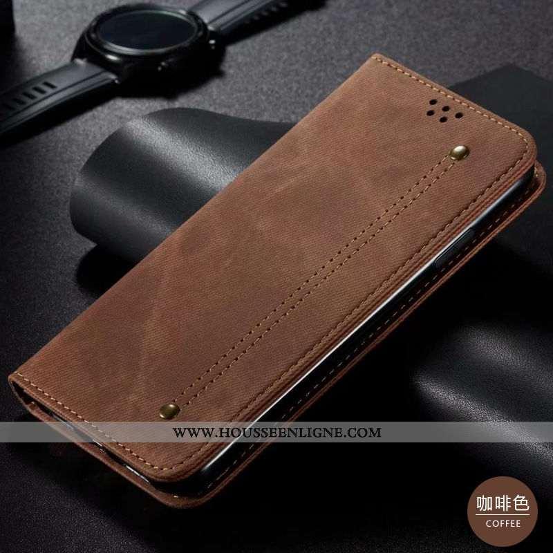 Coque Huawei P40 Lite Cuir Modèle Fleurie Téléphone Portable Housse Incassable Reversible Jeunesse M