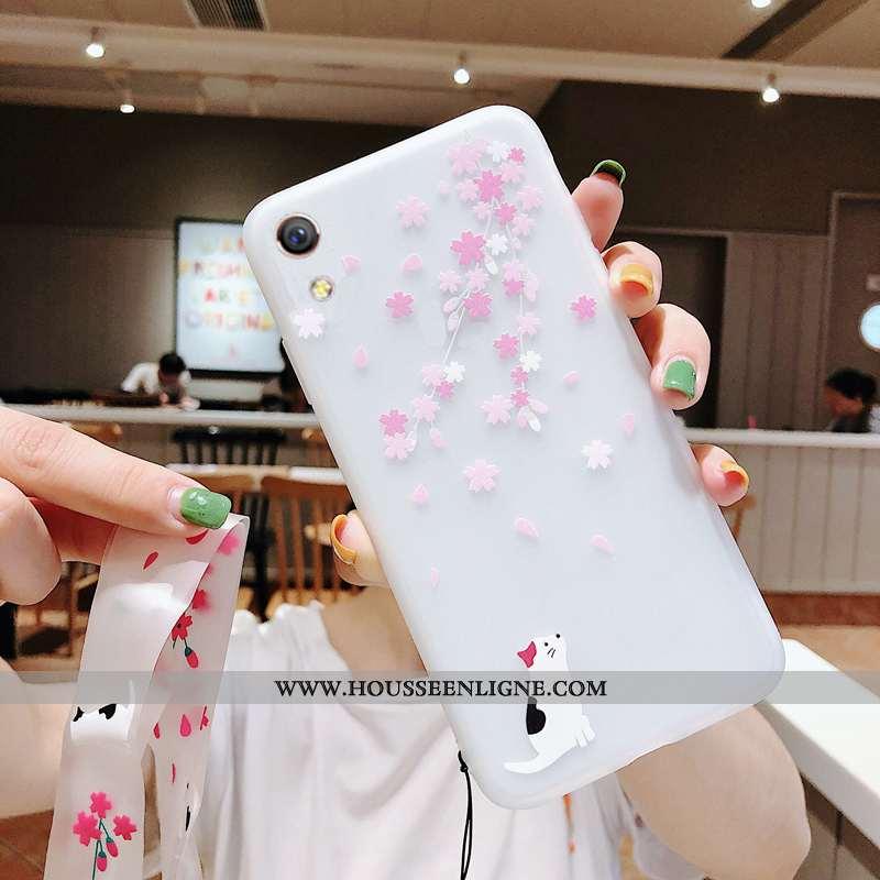 Coque Huawei Y5 2020 Ultra Légère Incassable Étui Téléphone Portable Sakura Rose