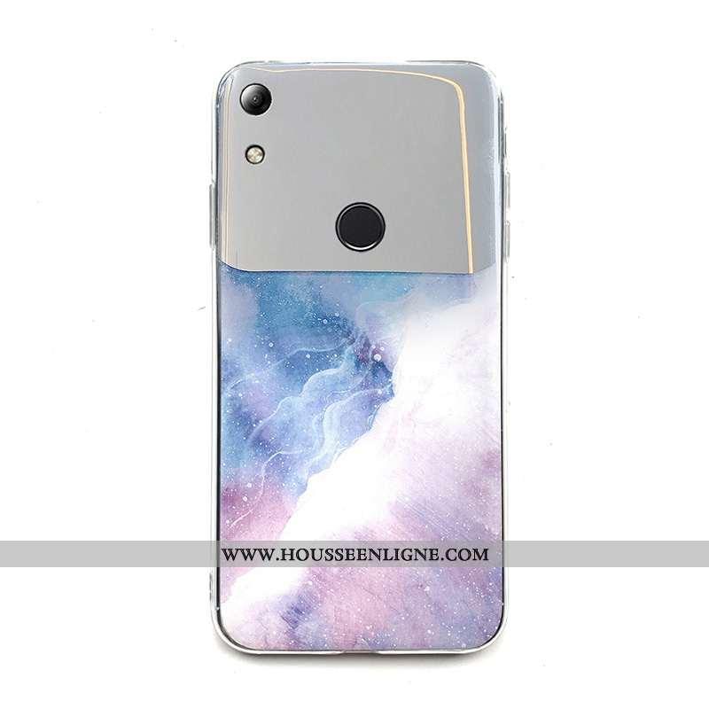 Coque Huawei Y6s Fluide Doux Silicone Incassable Protection Téléphone Portable Tendance Mode Rose