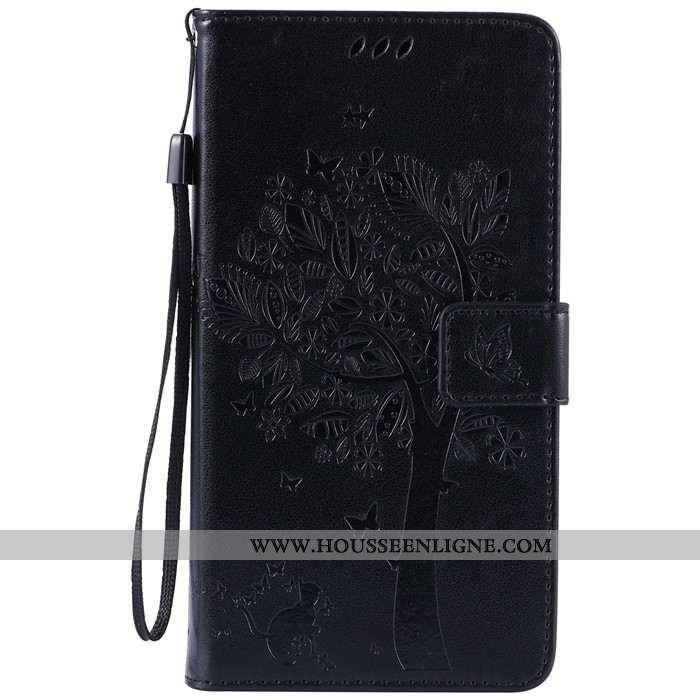 Coque Lg V30 Fluide Doux Protection Incassable Clamshell Téléphone Portable Carte Noir