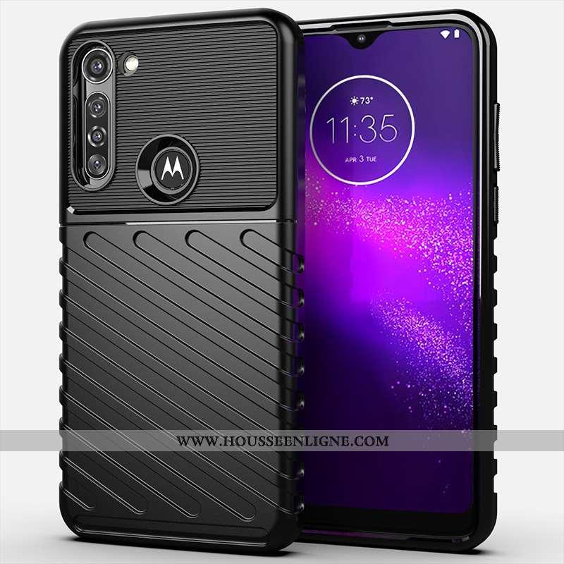 Coque Moto G8 Power Silicone Protection Tout Compris Noir Étui Téléphone Portable Incassable