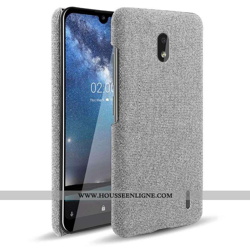 Coque Nokia 2.2 Protection Créatif Légère Difficile Téléphone Portable Étui Gris