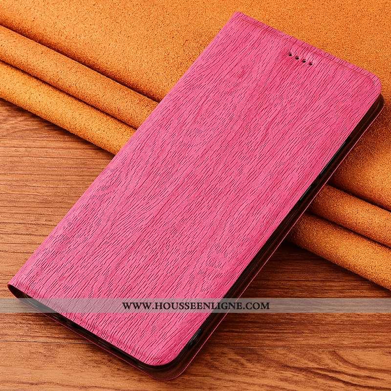 Coque Nokia 3.1 Plus Protection Cuir Étui Clamshell Incassable Fluide Doux Nouveau Rose
