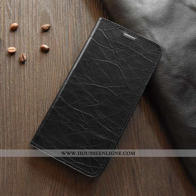 Coque Nokia 3.1 Plus Silicone Protection Légère Noir Jours Cuir Étui