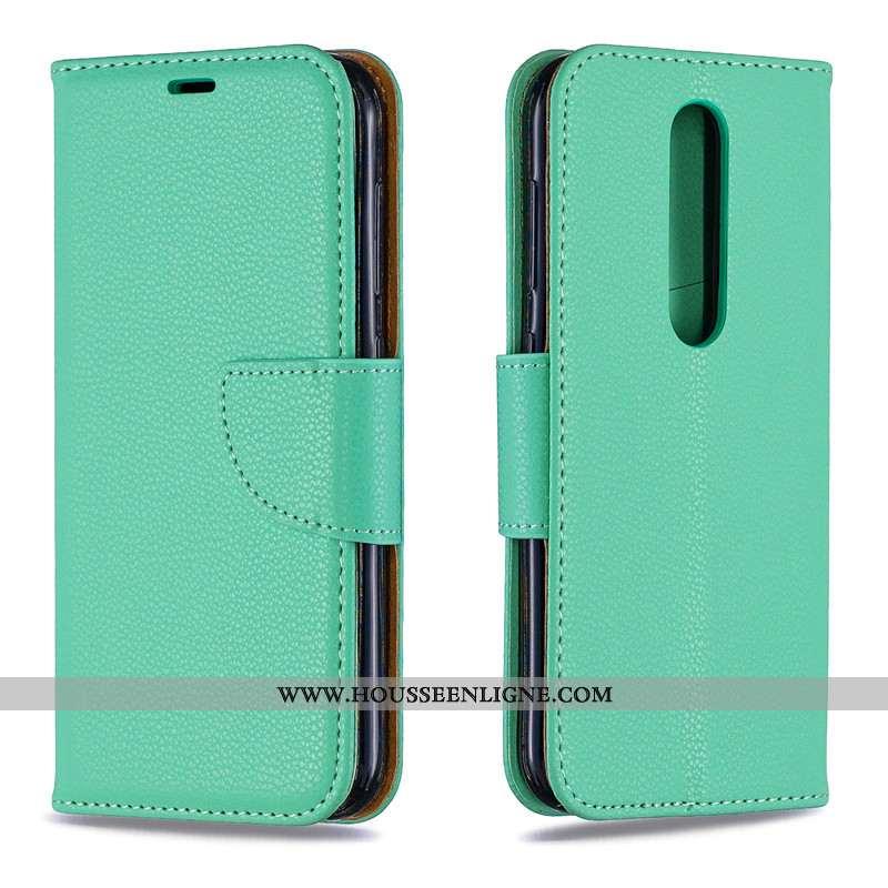 Coque Nokia 4.2 Protection Portefeuille 2020 Tendance Nouveau Tout Compris Verte