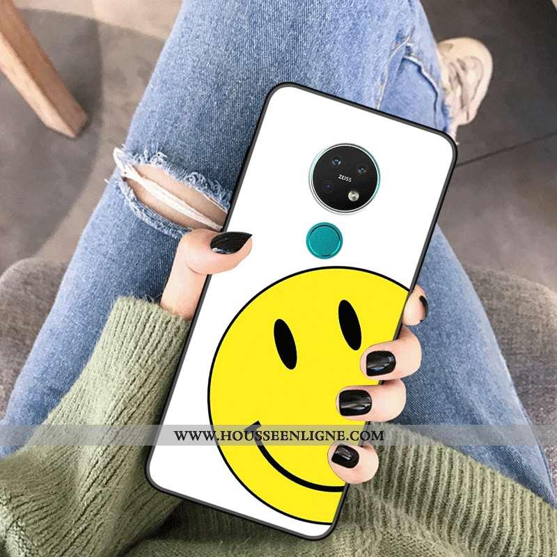 Coque Nokia 6.2 Silicone Protection Personnalité Personnalisé Amoureux Tendance Blanche