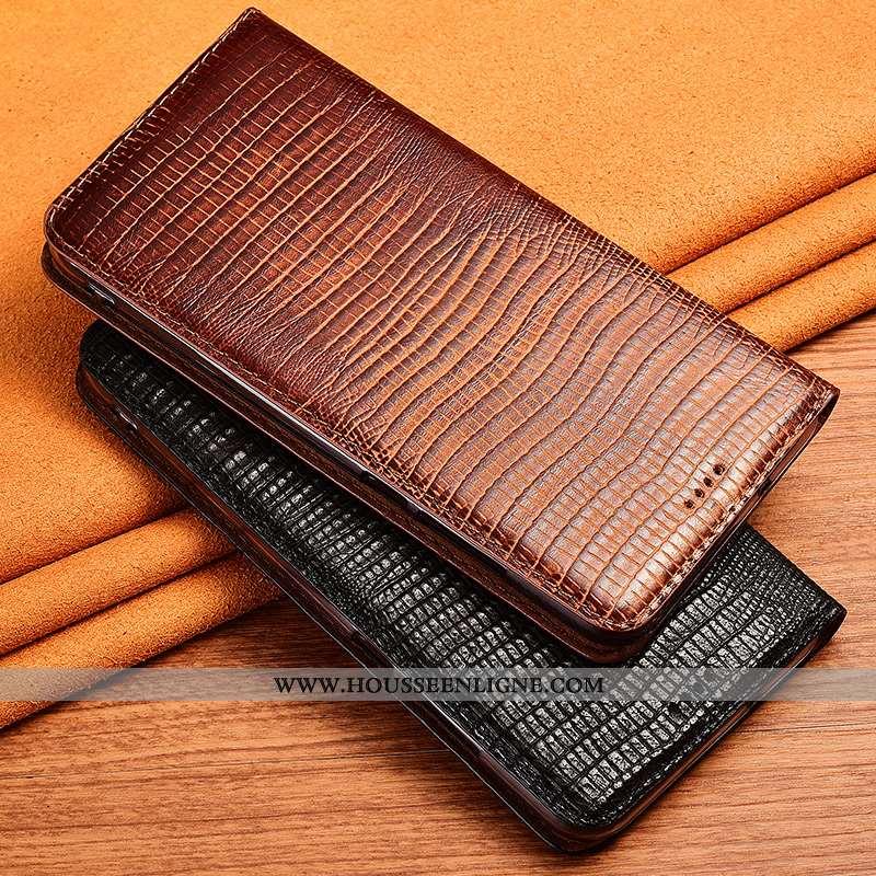 Coque Nokia 7.2 Silicone Protection Étui Téléphone Portable Incassable Cuir Tout Compris Marron
